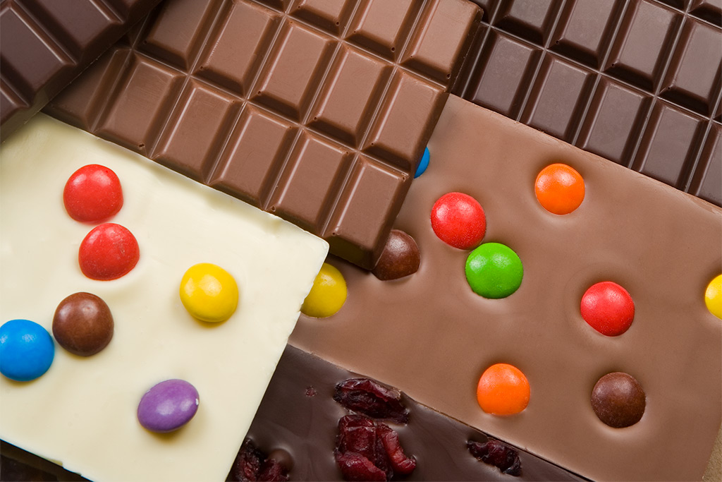 Handgeschöpfte Schokolade von der Konditorei Peintner in Innsbruck und Seefeld Tirol