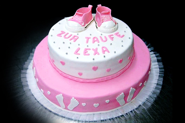 Torte Taufe Peintner Innsbruck Tirol